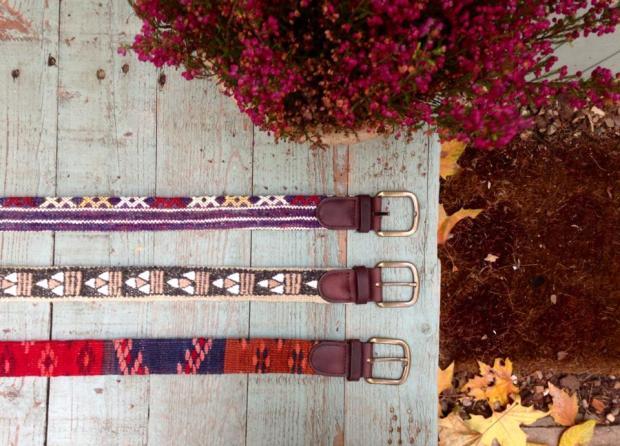 Cinturones Ethnos en Jardín de Federica & Co