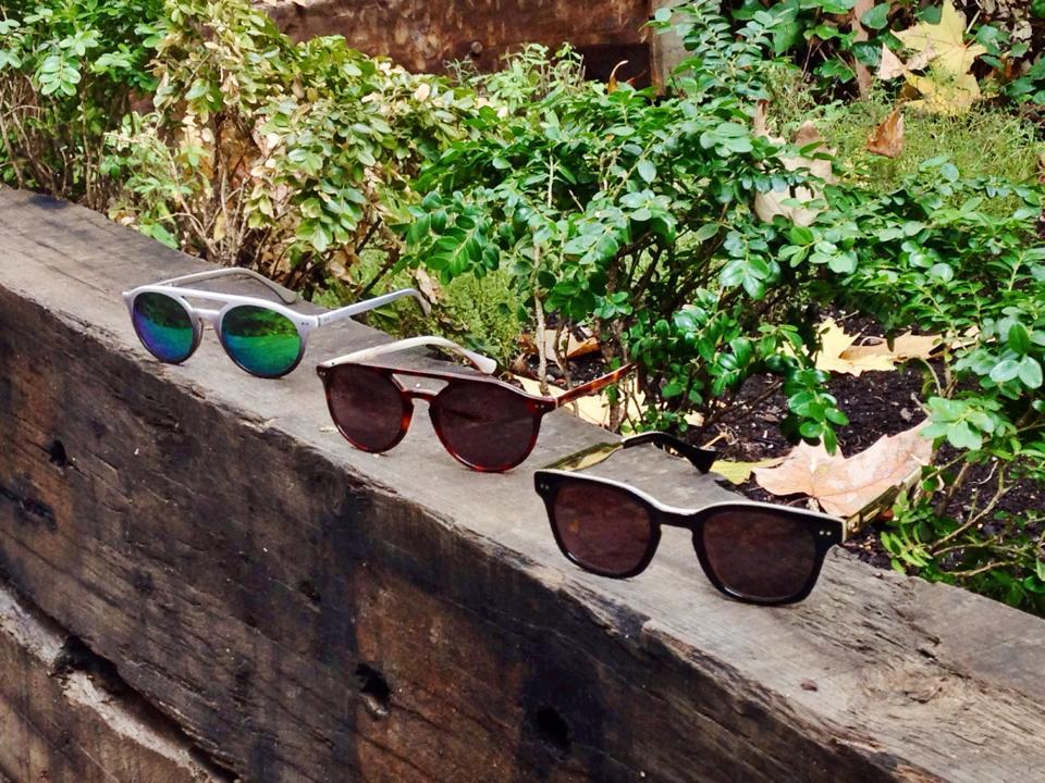 Gafas District en el Jardín de Federica & Co
