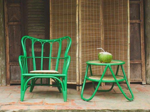 Muebles fabricados con fibras naturales de Ikea
